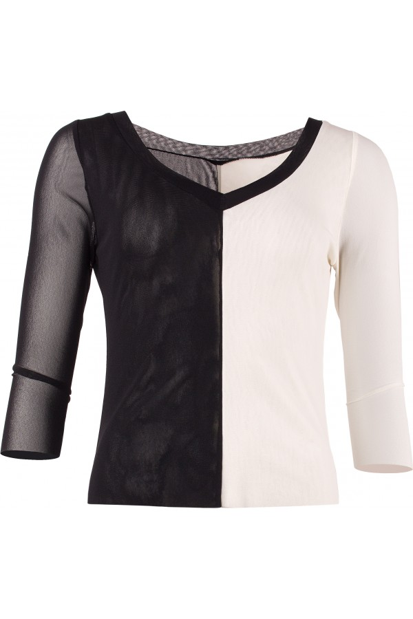 Shirt_V-Ausschnitt/Domino_EvelynZ