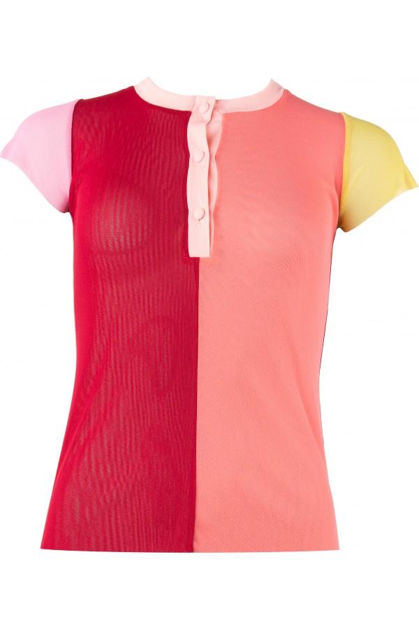 Shirt_Polo/kurzarm/mehrfärbig_EvelynZ