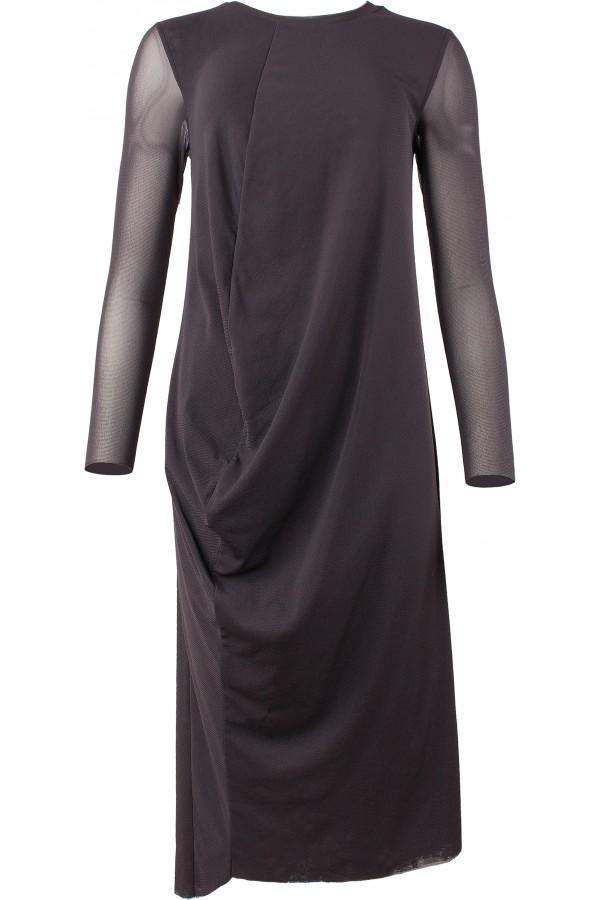 Kleid mit asymmetrischer Naht