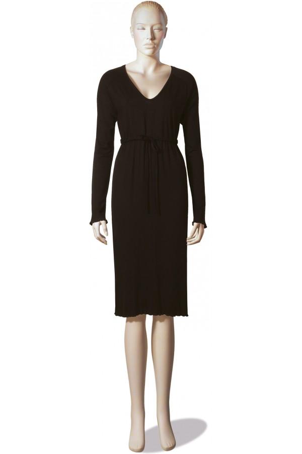 Sehr spezielles, zierliches Kleid mit Tunnelgürtel - Evelyn Z.