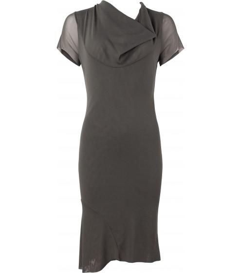 hinreißendes Kleid mit Römerfalte
