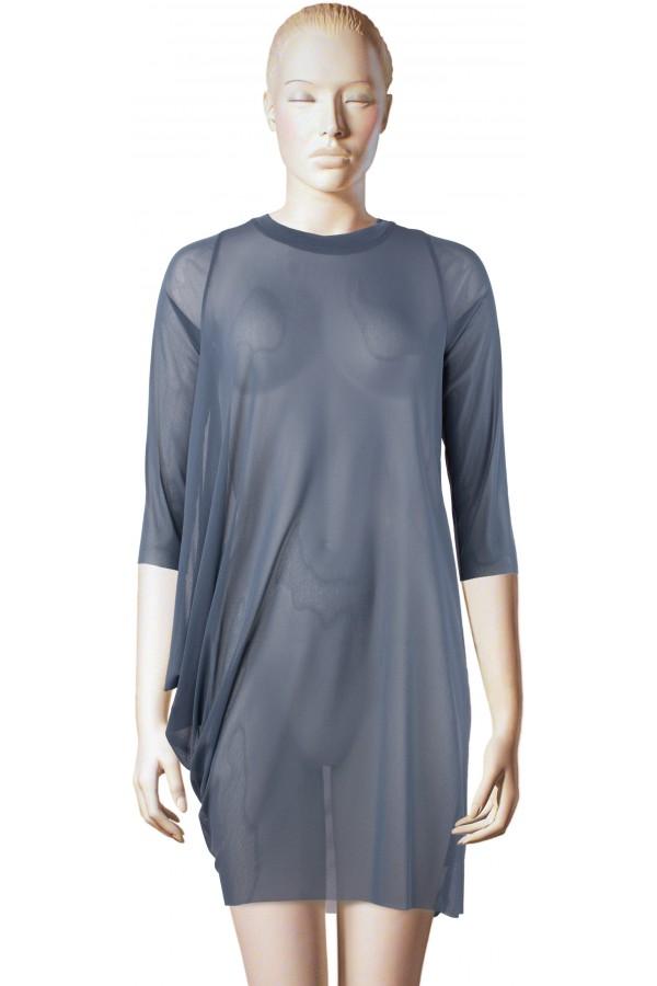 lässiges, asymmetrisches Kleid