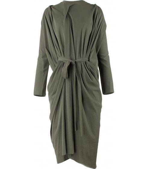 Lässiges, überweites Kleid mit Gürtel