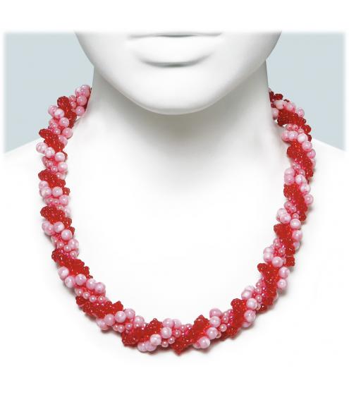 Kurzes Necklace in wunderschöner Farbkombination