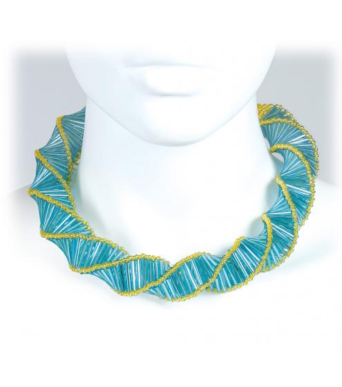 Necklace in strahlenden Farben