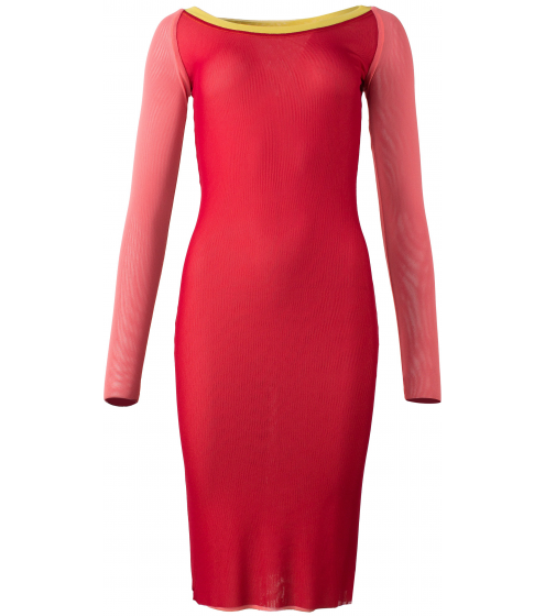 extrem cooles, mehrfarbiges Kleid